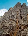 Torre Barancio zwischen Torre Lucy und Torre Romana - Nordwand