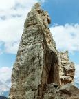 Torre Barancio - der obere Bereich des Turms von Süden gesehen