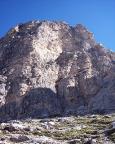 Torre Wundt, Mazzarone - Blick auf die Südwand beim Zustieg