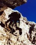 In den Ausstiegskaminen, die mit Kaminen in unserem Sinne nichts zu tun haben
