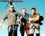 Die Watzmann-Ostwand ist geschafft, erstmals auf dem Gipfel der Südspitze