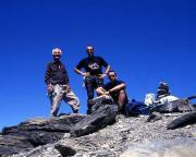 Aiguille du Belvédère - auf dem Gipfel