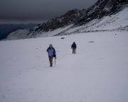 Wir waren fehlerhaft unterwegs, auf Gletschern geht man immer am Seil