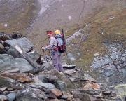 Aufstieg über Geröll aber gut begehbar und markiert zur Stüdlhütte