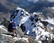 Großglockner – der Gipfel ist fast erreicht, auf den letzten Metern