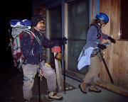 Ankunft an der Stüdlhütte nach einer großartigen Bergfahrt