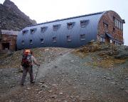 Ankunft an der Stüdlhütte - Basislager für den weiteren Aufstieg
