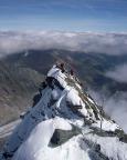 Gipfelgrat des Kleinglockner auf dem Weg zum Großglockner