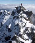Heike und Andreas nach dem Abstieg vom Kleinglockner in die Scharte