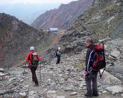 Kein Gipfel, aber Ziel erreicht, wir sind nämlich gesund an der Stüdlhütte