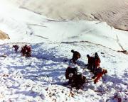 Zum Glück durften wir mit den Grindelwalder Bergführern absteigen