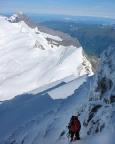 Finsteraarhorn - Die letzten Meter auf dem Nordwestgrat