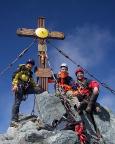 Man kann es nicht glauben, ALLEIN auf dem Gipfel Großglockner