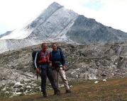 Lodner - gemeinsam mit Volker nach der ersten gemeinsamen Besteigung