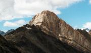 Der Lodner, Cima, Fiamante, ein Berg aus weißem Marmor