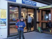 Grindelwald-Grund, ab hier beginnt die Auffahrt mit der Wengenalpbahn