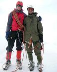 Heiko und Ivo vom KV FDGB Berlin auf dem Gipfel des Mönchs