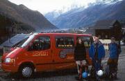Mont Blanc - vor dem Start, es sieht verdammt nach schlechtem Wetter aus