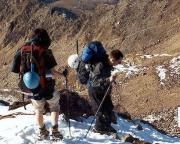 Mont Blanc -  schneller als gedacht kam das Aus und der Abstieg