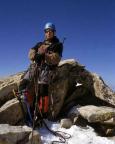 Mont Tondu - Paul auf dem Gipfel