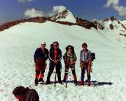 Unser Team nach der Besteigung der Finailspitze