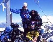 Auf dem Gipfel des Wießkugel - da lacht wie immer das Bergsteigerherz!