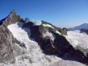 Zinalrothorn via Südostgrat, die Auf- und Abstiegsroute