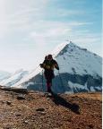 Fuscherkarkopf in Hüttennähe, eine herrliche Felspyramide