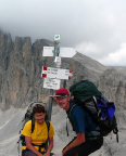 Carola Große und Steffen Große bei ihrer Paladurchwanderung