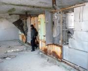 In der Wäscherei der Heeresversuchsanstalt mit noch beachtlichem Maschinenpark