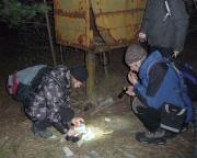 Lost Place Geocache Uranmaschine, der Bonus wurde natürlich auch gefunden