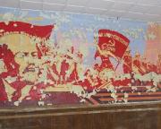 Es lebe der 7. Oktober – russische Kunst im Kultursaal