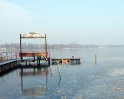 Unser Nachtquartier - natürlich nicht der See ;)
