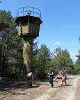 Lost Place Geocache Bewegung Soldat - Kontrolle der Wachtürme