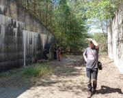Lost Place Geocache Bewegung Soldat - im Waffenlager des Militärobjekts