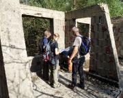 Lost Place Geocache Der Volkspolizist - knifflige Verstecke