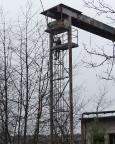 Lost Place Geocache Flugplatz Sperenberg, Untersuchung eines Kranes