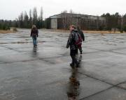 Lost Place Geocache Flugplatz Sperenberg - auf dem Rollfeld