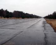 Lost Place Geocache Flugplatz Sperenberg - Blick auf eine der ehemaligen Rollbahnen