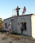 Lost Place Geocache auf dem Dach einer Abhörzentrale des MfS