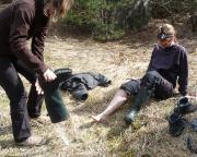 Lost Place Geocache Wjatscheslaws Stelldichein, Nachbereitung zum Tauchgang