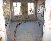 Lost Place Geocache Alte Mosaikfabrik - Nachlass der Spryer