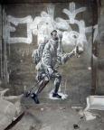 Lost Place Geocache Alte Mosaikfabrik - Graffiti Der Aufbruch