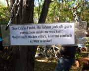 Lost Place Geocache Alte Mosaikfabrik - das Orakel