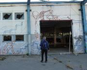 Kunst am Lost Place Geocache Sicherheitsinspektor Gründlich