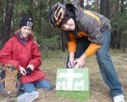 Max und Johanna genießen es - Geocaching ist ein tolles Spiel für jedermann