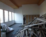 Viele der längst verlassenen Verwaltungsräume ...