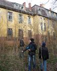 Lost Place Geocache in der Nervenheilanstalt Teupitz - Wechsel der Gebäude