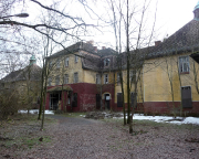 Lost Place Geocache Nervenheilanstalt Teupitz, eines der Häuser