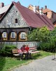 Knoflik - Geocaching im Lausitzer Gebirge - hier  in Jablonecs